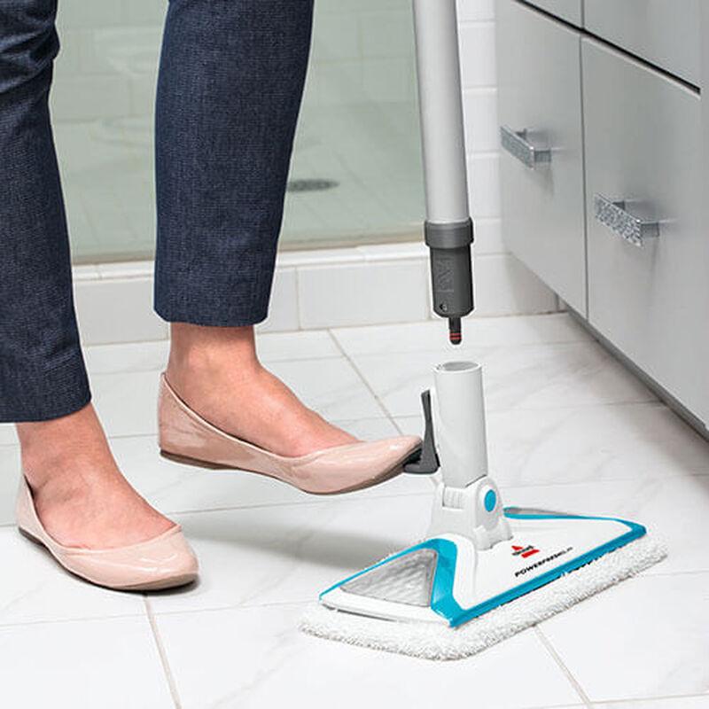 Slim Steam 2075 BISSELL Steam Mop Hard Floor Cleaner Remove Foot