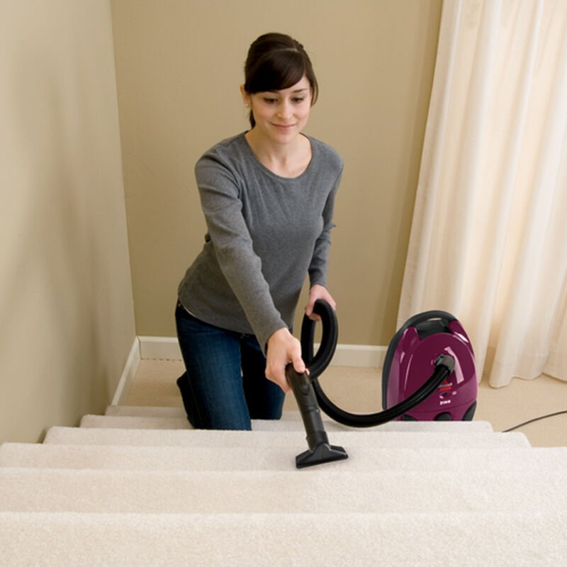You can still use a canister to vacuum stairs
