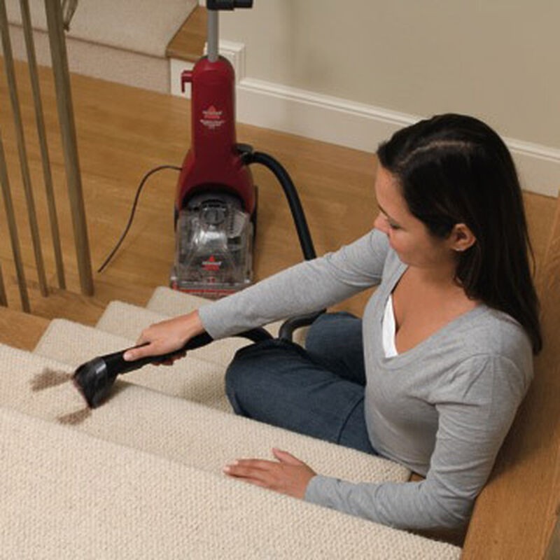 Readyclean Powerbrush Plus Carpet Cleaner 16W5C Stair Cleaning