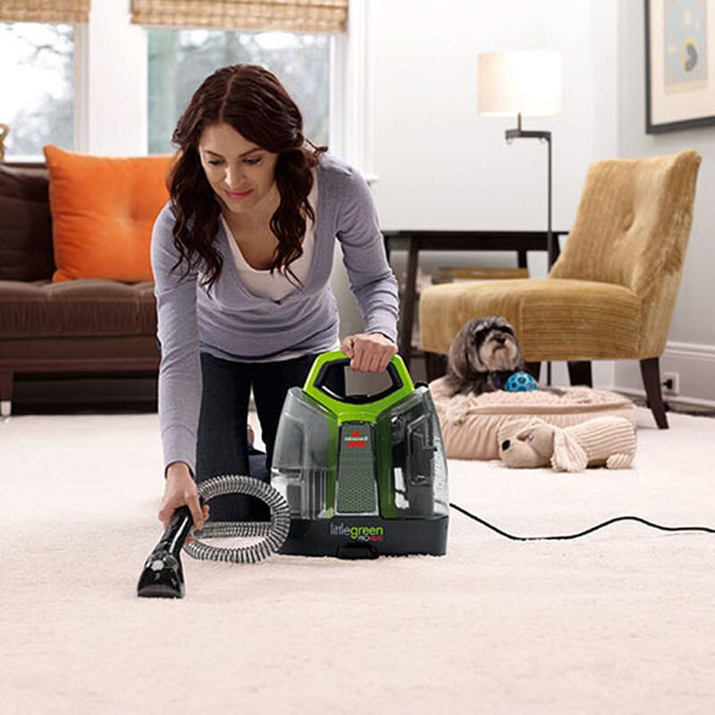 Little Green ProHeat 5207G BISSELL Carpet Cleaners Carpet