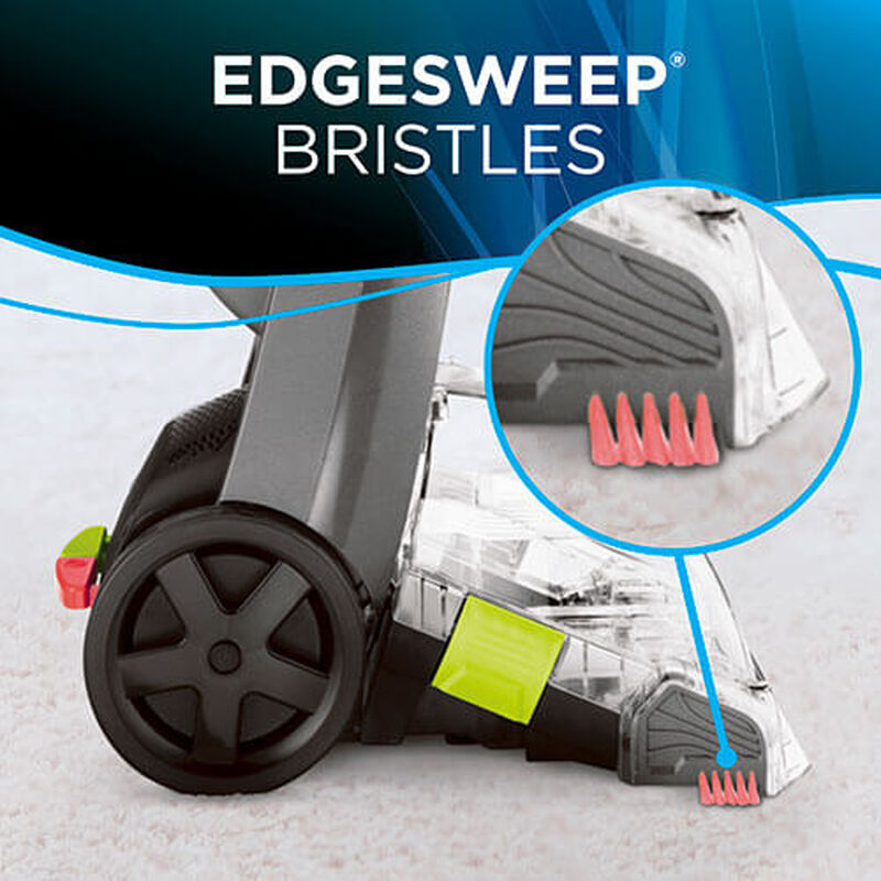 TurboClean PowerBrush Pet 2085 BISSELL Carpet Cleaner EdgeSweep Bristles
