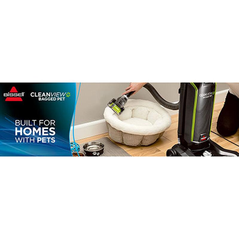 CleanView Pet Bagged Vacuum Cleaner 20191 BISSELL Pet Bed Vacuum