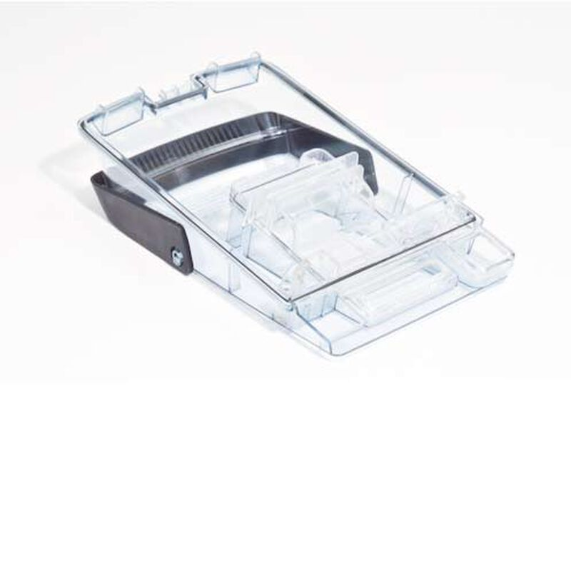 Tank Lid With Handle Deep Clean Essential 1601526 BISSELL Replacement Parts Bottom Side View