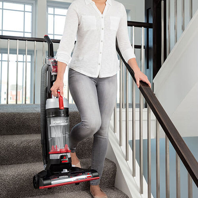 PowerForce Helix Turbo 2190 BISSELL Vacuum Cleaner Easy Wash Shelf Lightweight