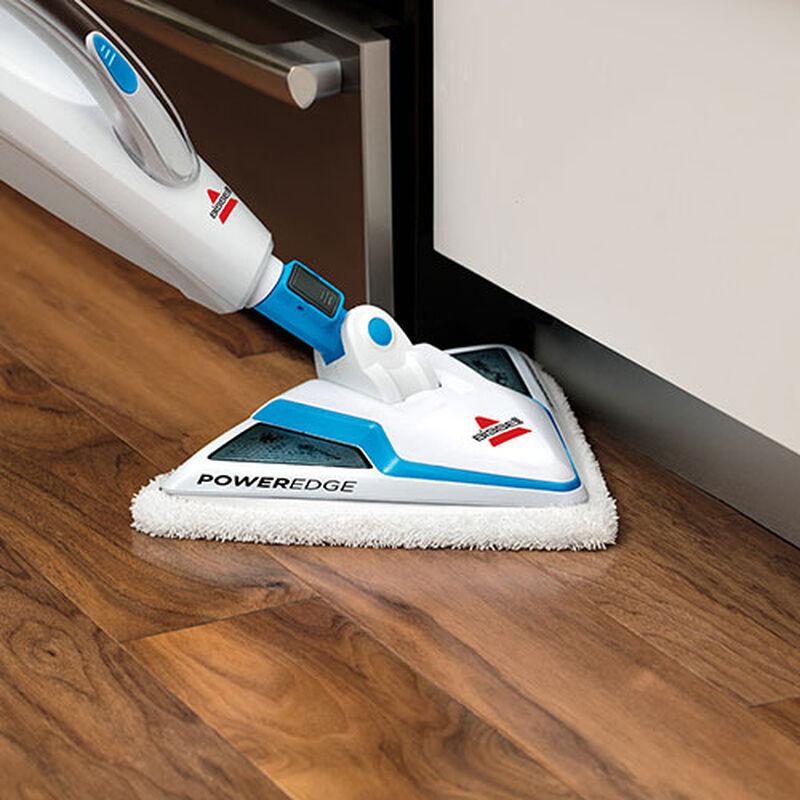 PowerEdge Steam Mop 20781 BISSELL Steam Mop Machine Edge Cleaning