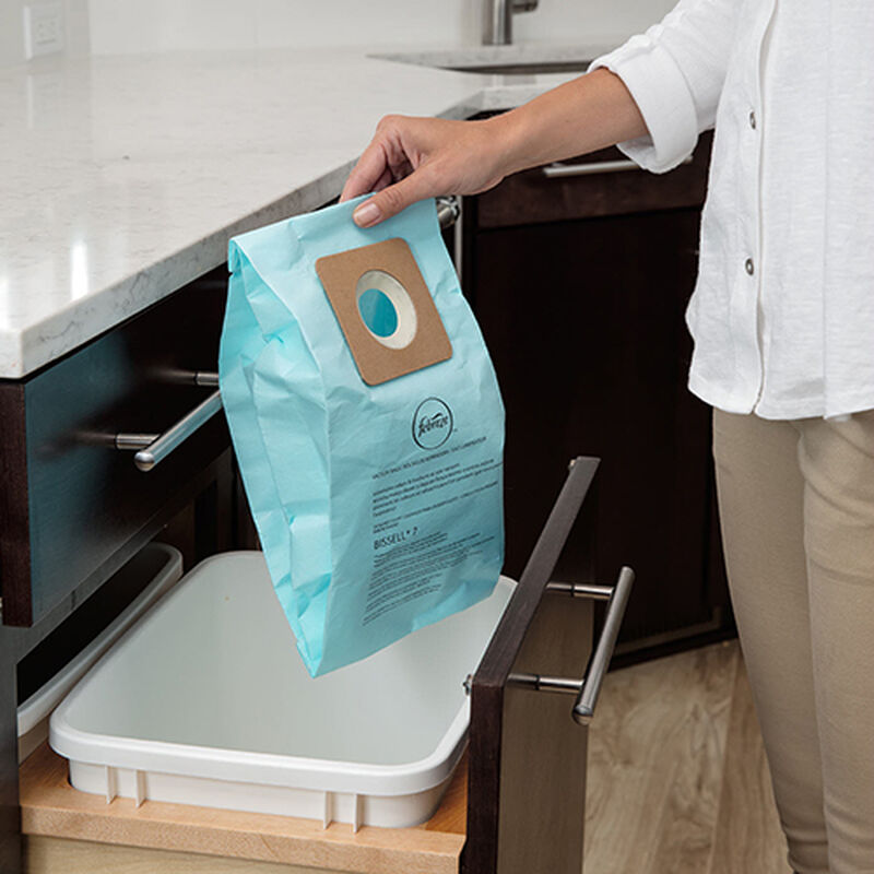 CleanView Pet Bagged Vacuum Cleaner 20191 BISSELL Bag Trash