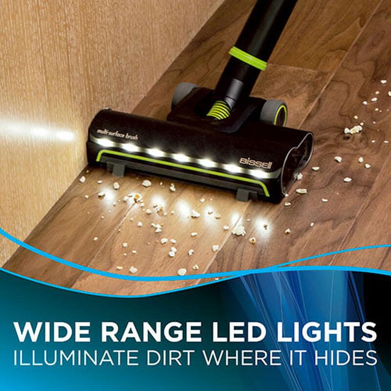 Multi Reach Cordless Vacuum 2151 BISSELL Cordless Vacuum Cleaner Hard Floor Lights