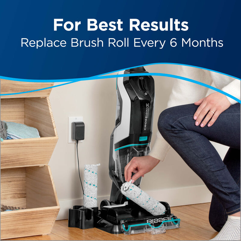 BISSELL CrossWave Cordless Max Area Rug Brush Roll 1618639 Results