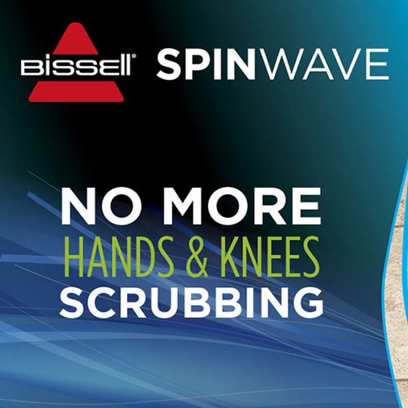SpinWave Hard Floor Cleaner 2039 BISSELL No Hand Knees Cleaning