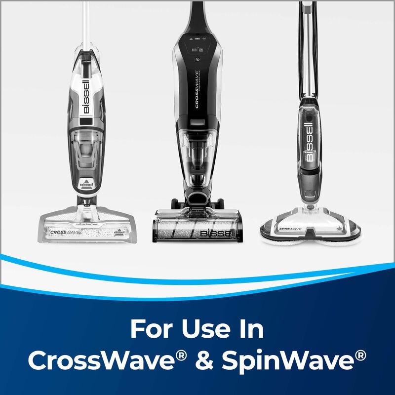 BISSELL Wood Floor Formula 1929 CrossWave Multi Surface Wet Dry Vac SpinWave Machines