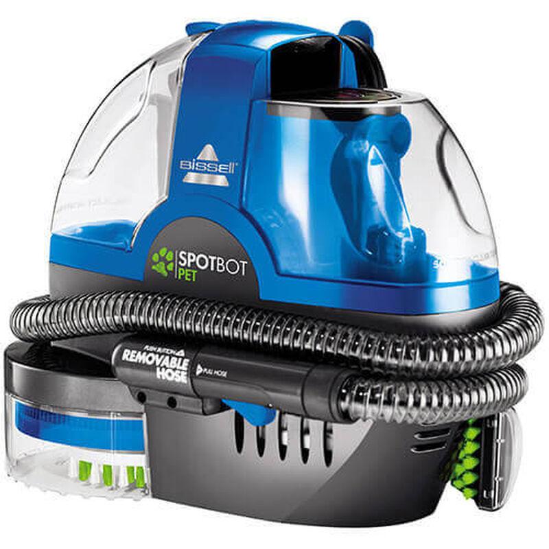 SpotBot_2117A_BISSELL_Portable_Carpet_Cleaner_Left