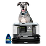 BARKBATH Dual Use Machine with Dog and bottle of Shampoo