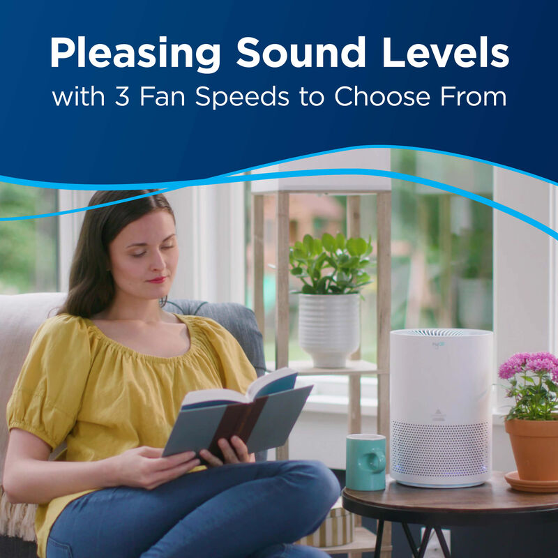 BISSELL™ MyAir™ Personal Air Purifier Sound Levels