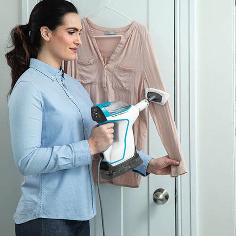 Slim Steam 2075 BISSELL Steam Mop Hard Floor Cleaner Steam Clothing