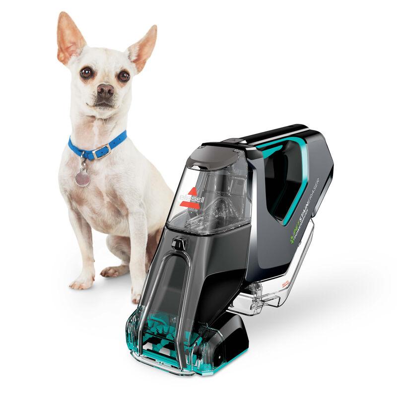 Pet Stain Eraser™ PowerBrush Cordless Portable Carpet Cleaner