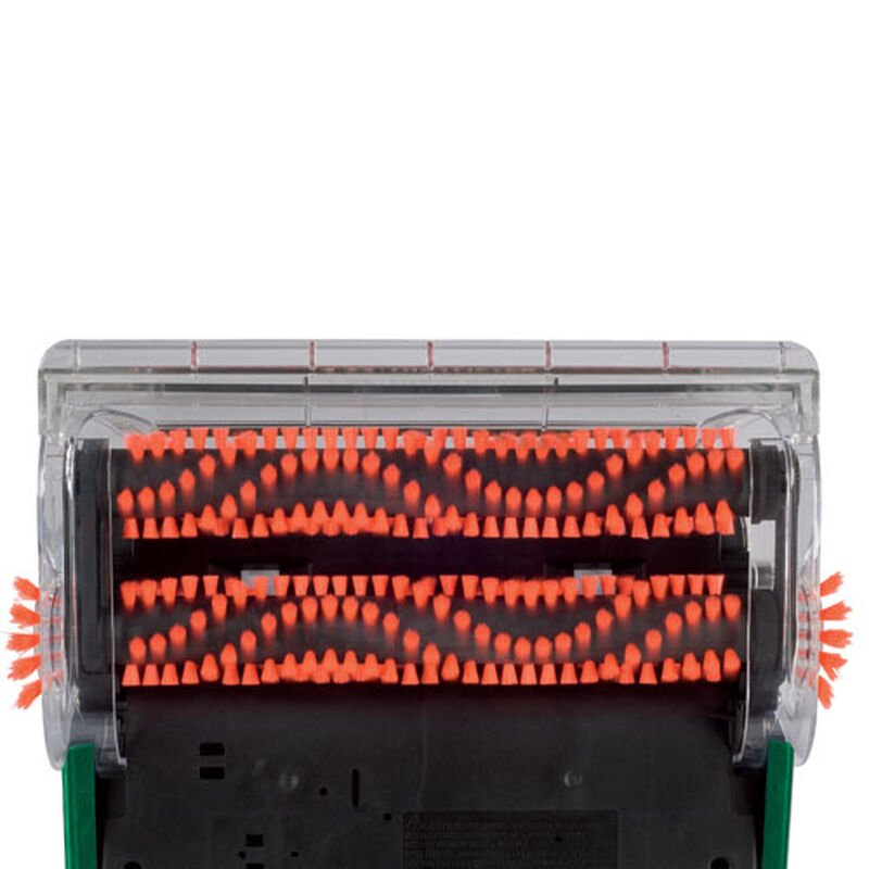 LiftOff Carpet Cleaner 94Y2 Dual Powerbrushes Bottom View