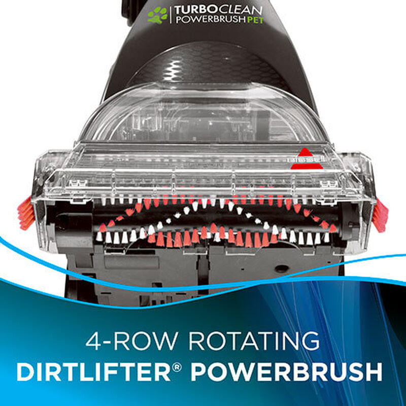 TurboClean PowerBrush Pet 2085 BISSELL Carpet Cleaner Bottom