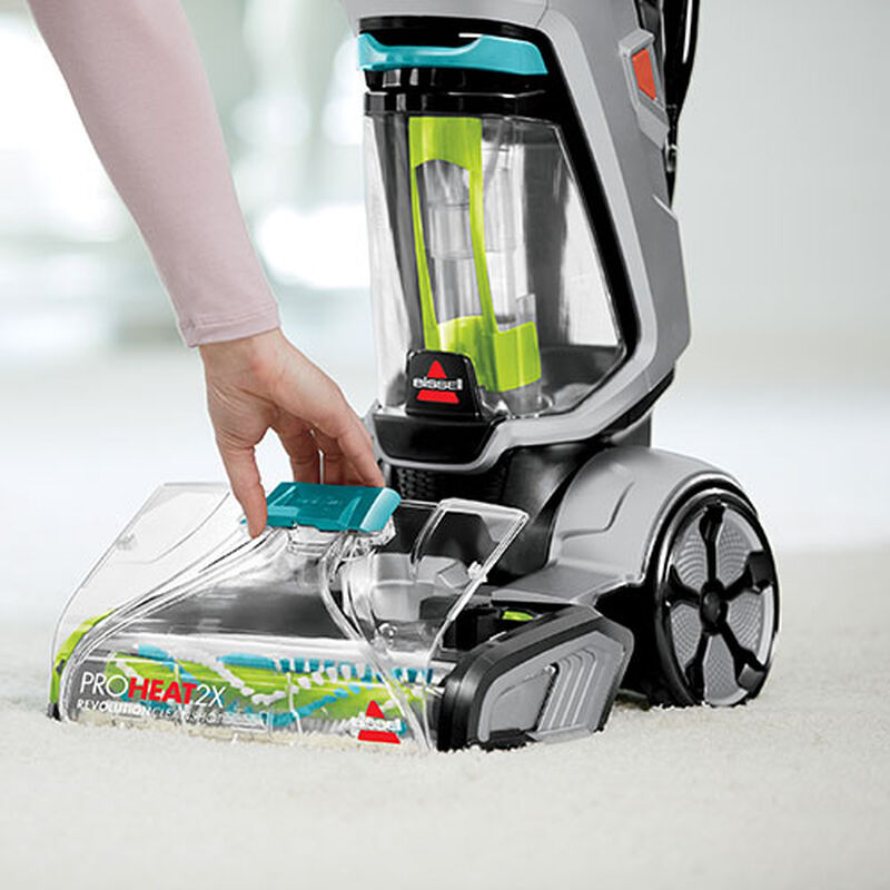 ProHeat 2X Revolution 2007C BISSELL Carpet Cleaners Remove Nozzle
