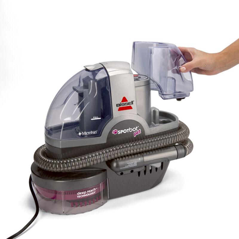 33N8 SpotBot Pet Portable Carpet Cleaner Clean Water Tank