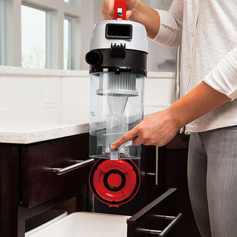 PowerForce Helix Turbo 2190 BISSELL Vacuum Cleaner Easy Empty