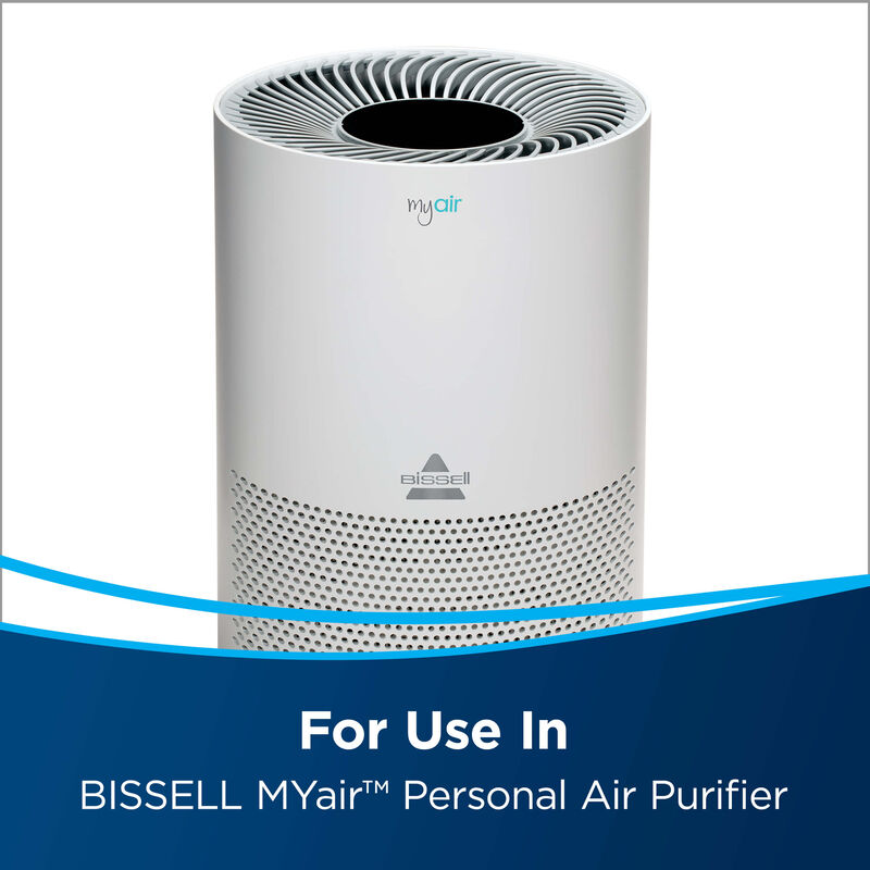 BISSELL MYair Personal Air Purifier Replacement Filter 2801 Use