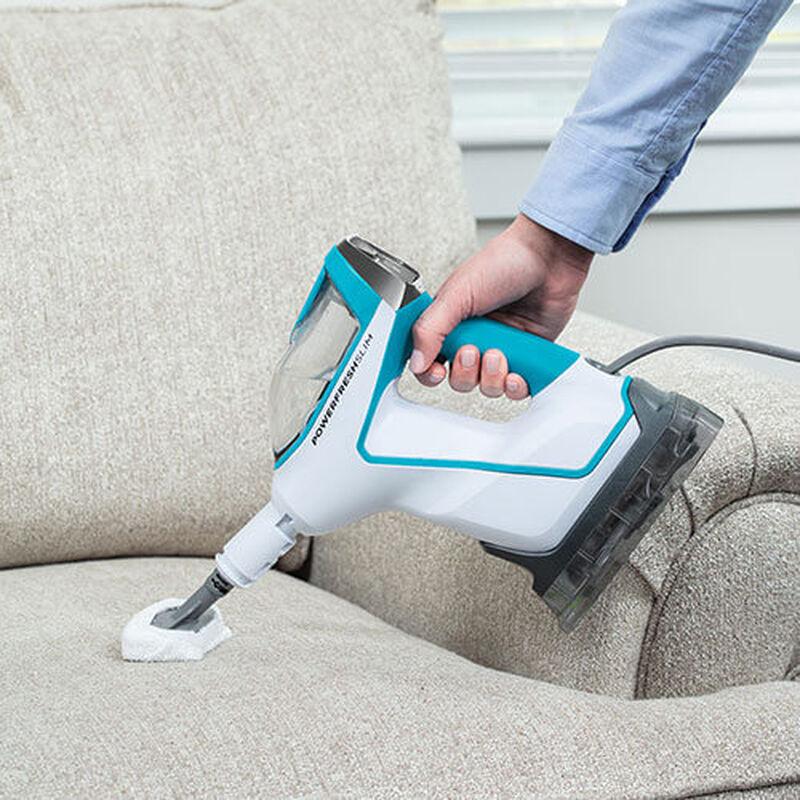 Slim Steam 2075 BISSELL Steam Mop Hard Floor Cleaner Steam Couch