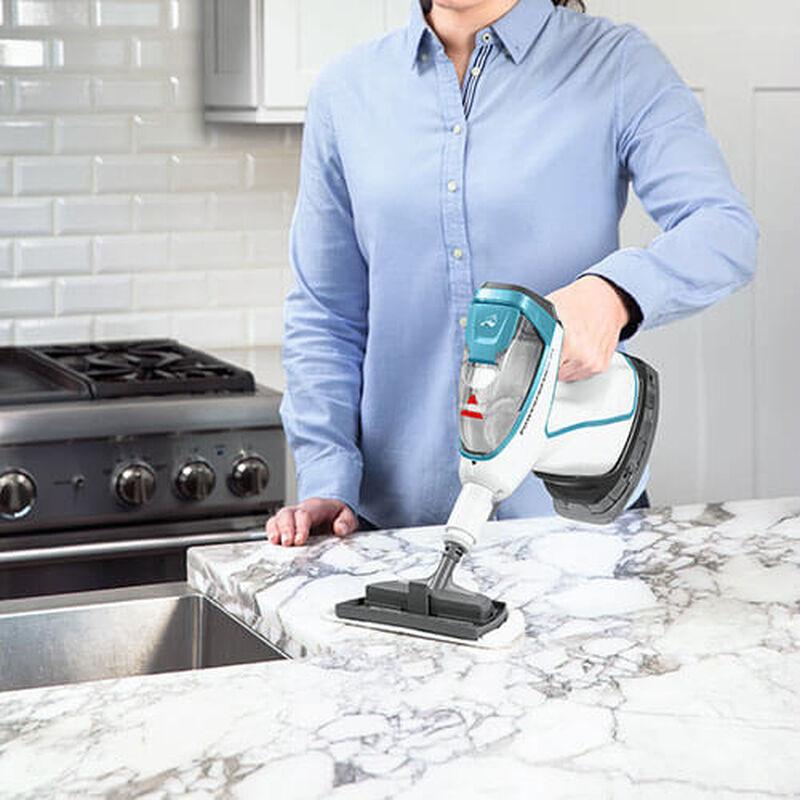 Slim Steam 2075 BISSELL Steam Mop Hard Floor Cleaner Steam Kitchen Counter