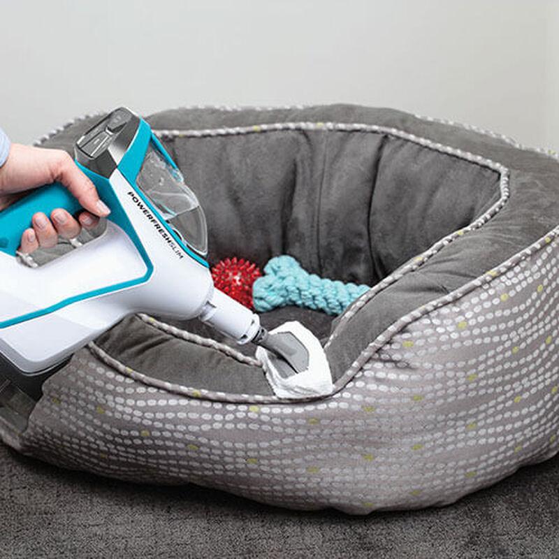 Slim Steam 2075 BISSELL Steam Mop Hard Floor Cleaner Steam Pet Bed