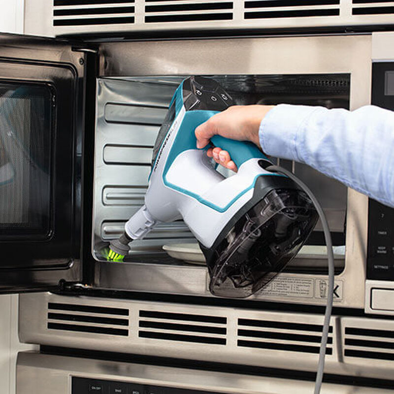 Slim Steam 2075 BISSELL Steam Mop Hard Floor Cleaner Steam Microwave