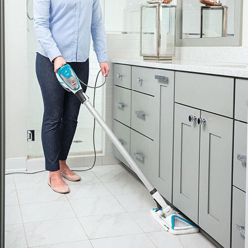 Slim Steam 2075 BISSELL Steam Mop Hard Floor Cleaner Steam Under Kitchen Cabinets