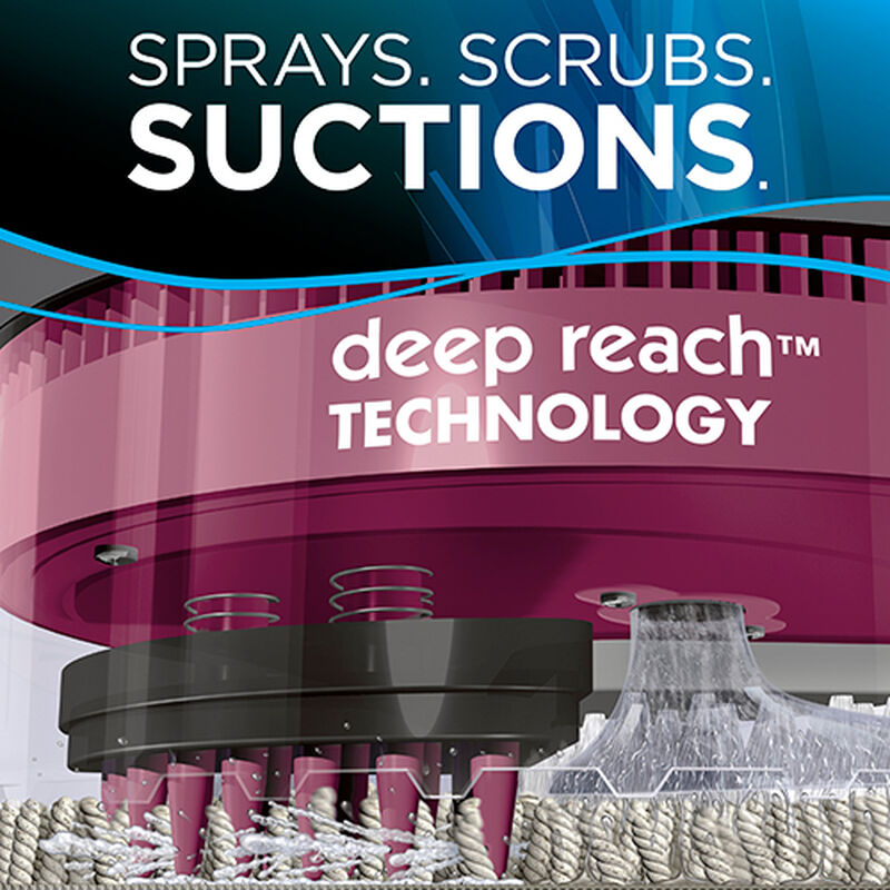 SpotBot Pet 33N8 Sprays Suctions Scrubs BISSELL Carpet Cleaners