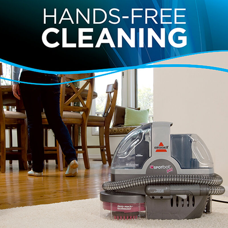 SpotBot Pet 33N8 hands free Cleaning BISSELL Carpet Cleaners