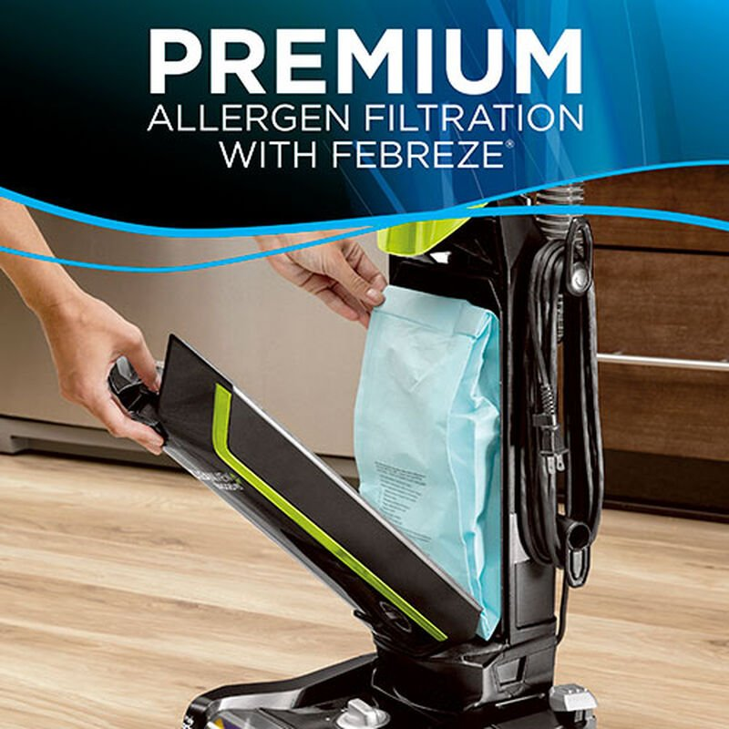 CleanView Pet Bagged Vacuum Cleaner 20191 BISSELL Bag Change