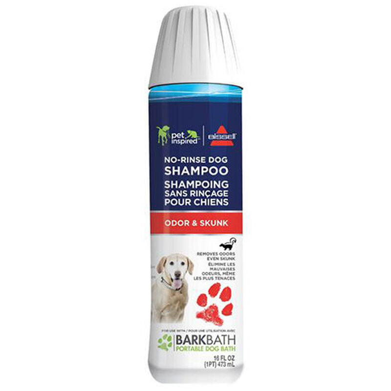 Odor And Skunk No Rinse Shampoo for BARKBATH front view