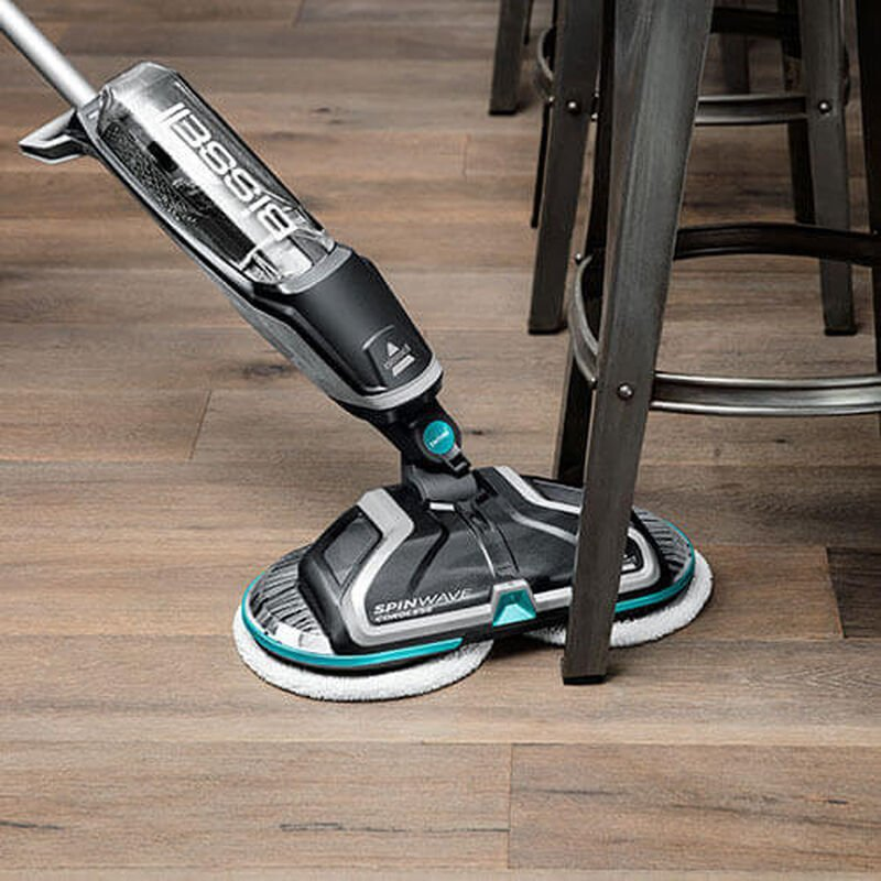 SpinWave_Cordless_2315_BISSELL_Hard_Floor_Spin_Mop_Right_Under_Chair