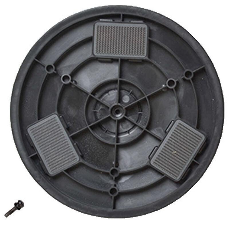 Rotating Disc Left SpinWave 1611579 BISSELL Hard Floor Cleaner Parts Bottom