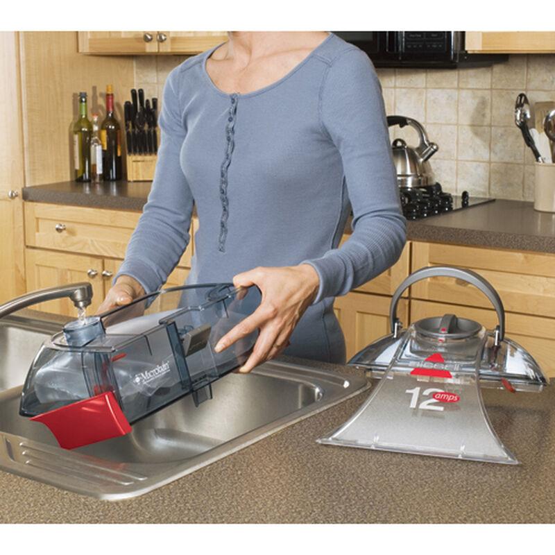 Proheat 2X Cleanshot Carpet Cleaner 9500 Water Bladder Filling