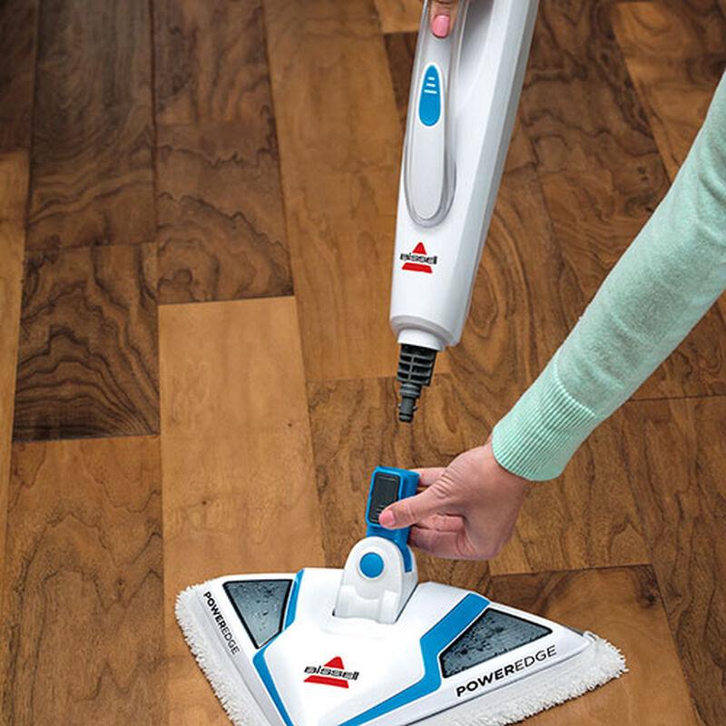 PowerEdge Steam Mop 20781 BISSELL Steam Cleaner Machine Remove Foot