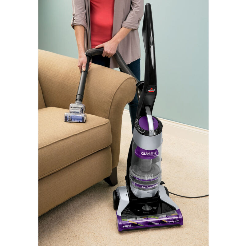 CleanView Pet Rewind Vacuum 1328 Upholstery Cleaning