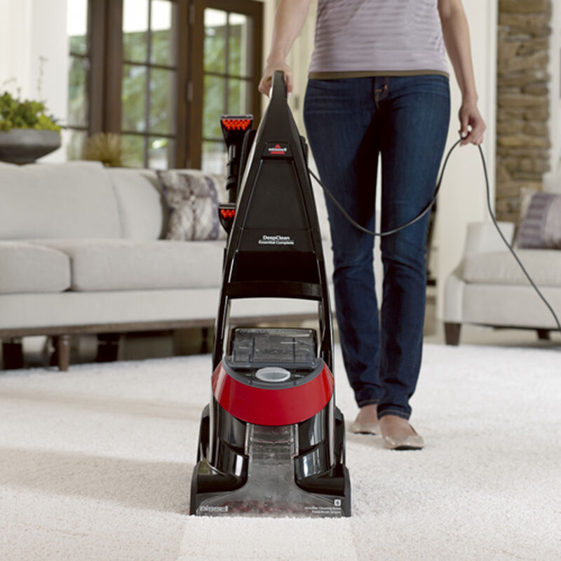 DeepClean Essential Carpet Cleaner 8852 Front View Carpet Cleaning Path