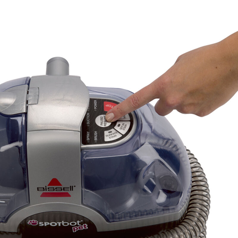33N8 SpotBot Pet Portable Carpet Cleaner Cleaning Modes