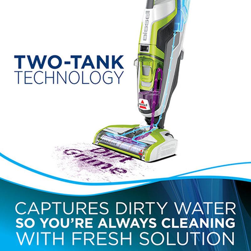 1785 9 BISSELL Crosswave Wet Dry Floor Cleaner