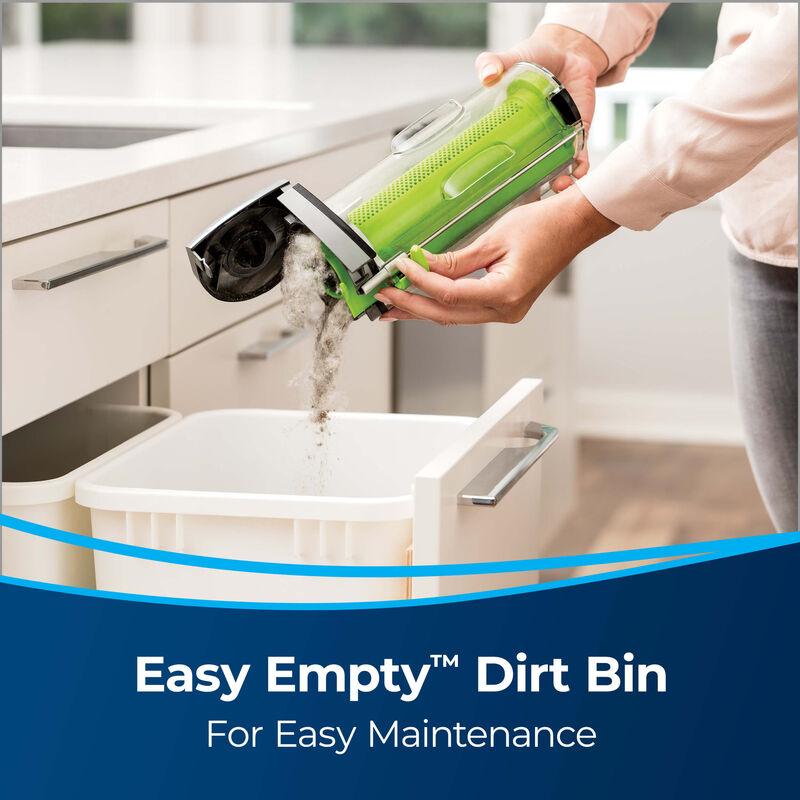BISSELL AirRam Cordless Vacuum Cleaner 1984 Easy Empty Dirt Bin