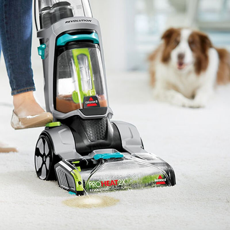 ProHeat 2X Revolution 2007C BISSELL Carpet Cleaners CleanShot