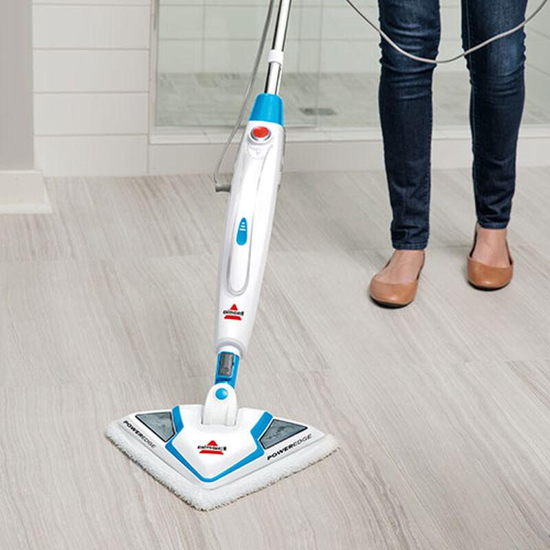 PowerEdge Steam Mop 20781 BISSELL Steam Cleaner Machine Bathroom Floor